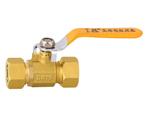 黄铜铝塑管等径球阀